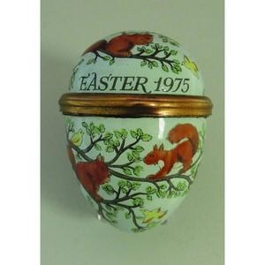 Halcyon Days Easter 1975 Enamel Box