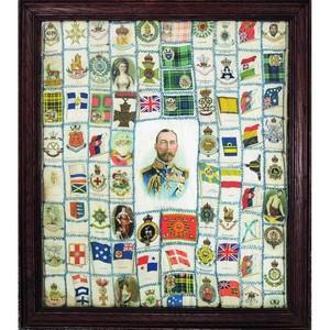 Framed Silk Cigarette Cards