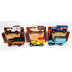 6 Matchbox Models of Yesteryear (Red Packaging)