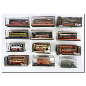 8 Corgi Original Omnibus Limited Edition Models