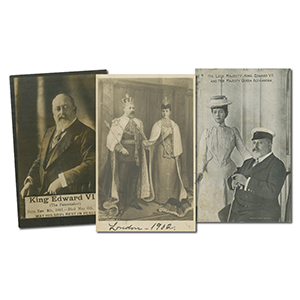 22 King Edward VII & Queen Alexandra Postcards