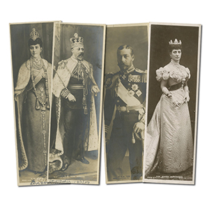 4 Royalty Book Postcards