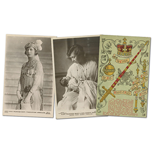 28 Royalty Postcards
