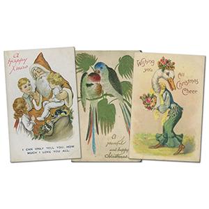 20 vintage Christmas/Easter  postcards