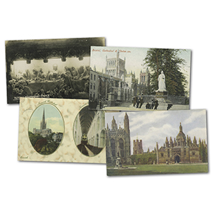 30+ vintage Cathedral & Churches postcards
