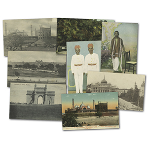 280 vintage Indian postcards