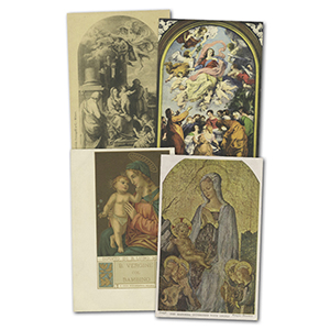 13 Vintage religious themed Postcards