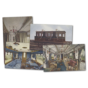 15 Royal Train Postcards