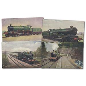 12 GWR Postcards