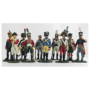 10 Del Prado Napoleon at War Handpainted Soldiers