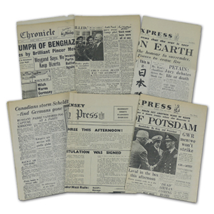 World War II Newspapers