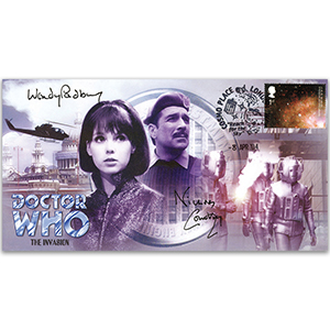 Doctor Who The Invasion - Signed Padbury & Courtney