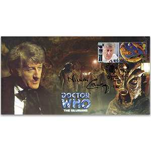 Doctor Who The Silurians - Signed Nicholas Courtney