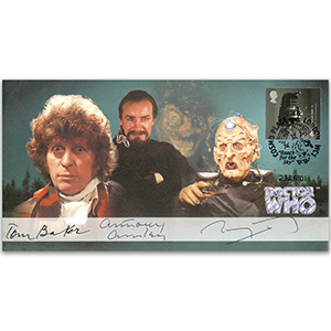 Doctor Who - Signed Baker, Ainley & Molloy