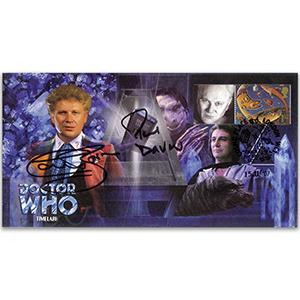 Doctor Who Timelash - Signed Baker & Darrow