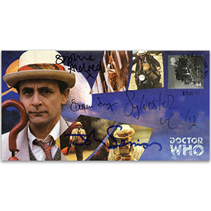Doctor Who Seventh Doctor - Signed McCoy, Aldred, Fry & Sessions