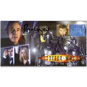 Doctor Who Rise Cybermen - Signed Roger Lloyd Pack