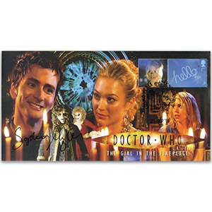 Doctor Who Girl in the Fireplace - Signed Sophia Myles