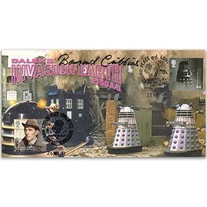 Doctor Who Invasion Earth - Signed Bernard Cribbens