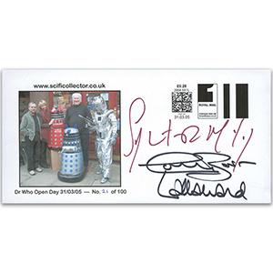 Dr Who Open Day - Signed McCoy, C. Baker & Ward
