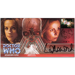 Doctor Who Armageddon Factor - Signed Mary Tamm & Lalla Ward