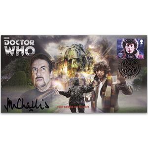 Doctor Who Seeds of Doom - Signed John Challis
