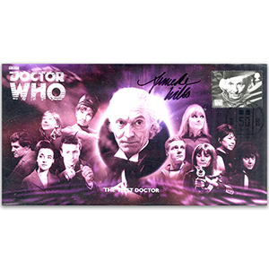 Doctor Who First Doctor & Assist Signed Anneke Wills FDC