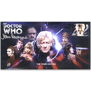 Doctor Who Third Doctor & Assist Signed John Levene FDC
