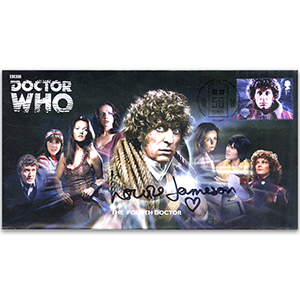 Doctor Who Fourth Doctor & Assist. Signed Louise Jameson FDC