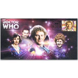 Doctor Who Sixth Doctor & Assist Signed Bonnie Langford FDC