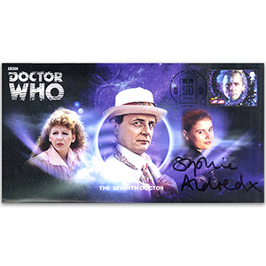 Doctor Who Seventh Doctor & Assist Signed Sophie Aldred FDC