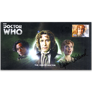 Doctor Who Eighth Doctor & Assist Signed Daphne AshbrookFDC