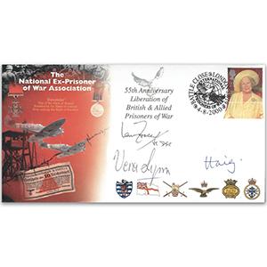 2000 NEXPOWA - Signed by Ian Fraser VC, Dame Vera Lynn & Early Haig