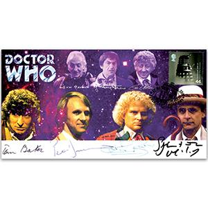 Doctor Who - Doctors Reunited Signed Cover