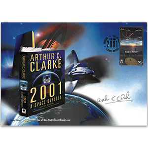 2001 IoM Space Odyssey - Signed by Arthur C. Clarke
