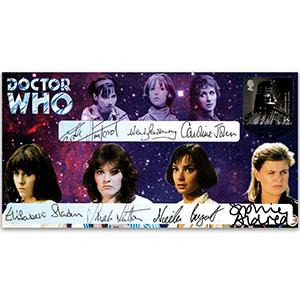 Doctor Who - Assistants Signed Cover
