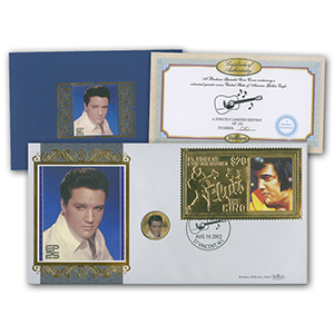 Elvis Golden Eagle Coin Cover