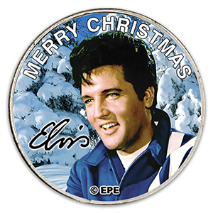 Elvis 'Merry Christmas' Quarter