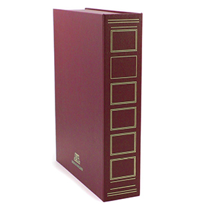 Clarendon Exhibition Case - Maroon