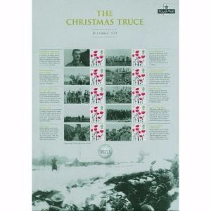 2014 Christmas Truce Commemorative Sheet