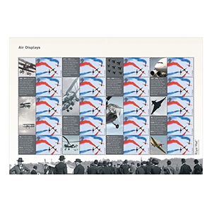 2008 Air Displays Royal Mail Commemorative Sheet