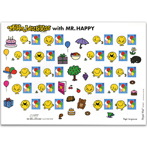 2008 Smilers for Kids - Balloons/Mr Men - Mint Stamp Sheet