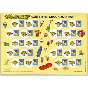 2009 Smilers for Kids - Balloons/Little Miss Sunshine - Mint Stamp Sheet