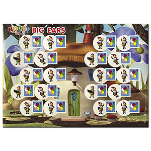 2009 Smilers for Kids - Balloons/Big Ears - Mint Stamp Sheet