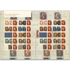 2016 175th Anniv Penny Red Commemorative Sheet