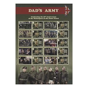 2018 Dad's Army Collectors Sheet