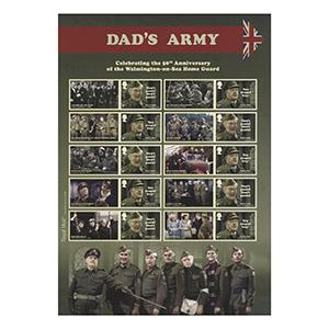 2018 Dad's Army Collectors Sheet