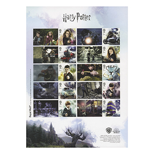 2018 Harry Potter Collectors Sheet