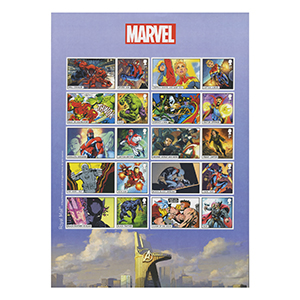 2019 Marvel Collectors Sheet