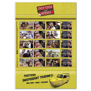 2021 Only Fools and Horses Collectors Sheet